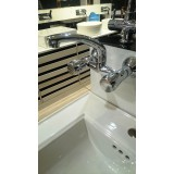 SINK MIXER WITH SWIVEL SPOUT(WALL MOUNTED)ESS ESS BY ASIAN PAINTS C-219 CROMA