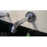 BATH SPOUT WITHOUT DIVERTOR POLISHED CHROME K-14426IN-CP PURIST